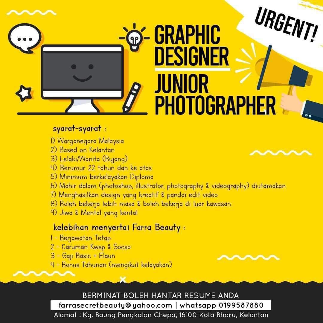 Jawatan kosong graphic designer