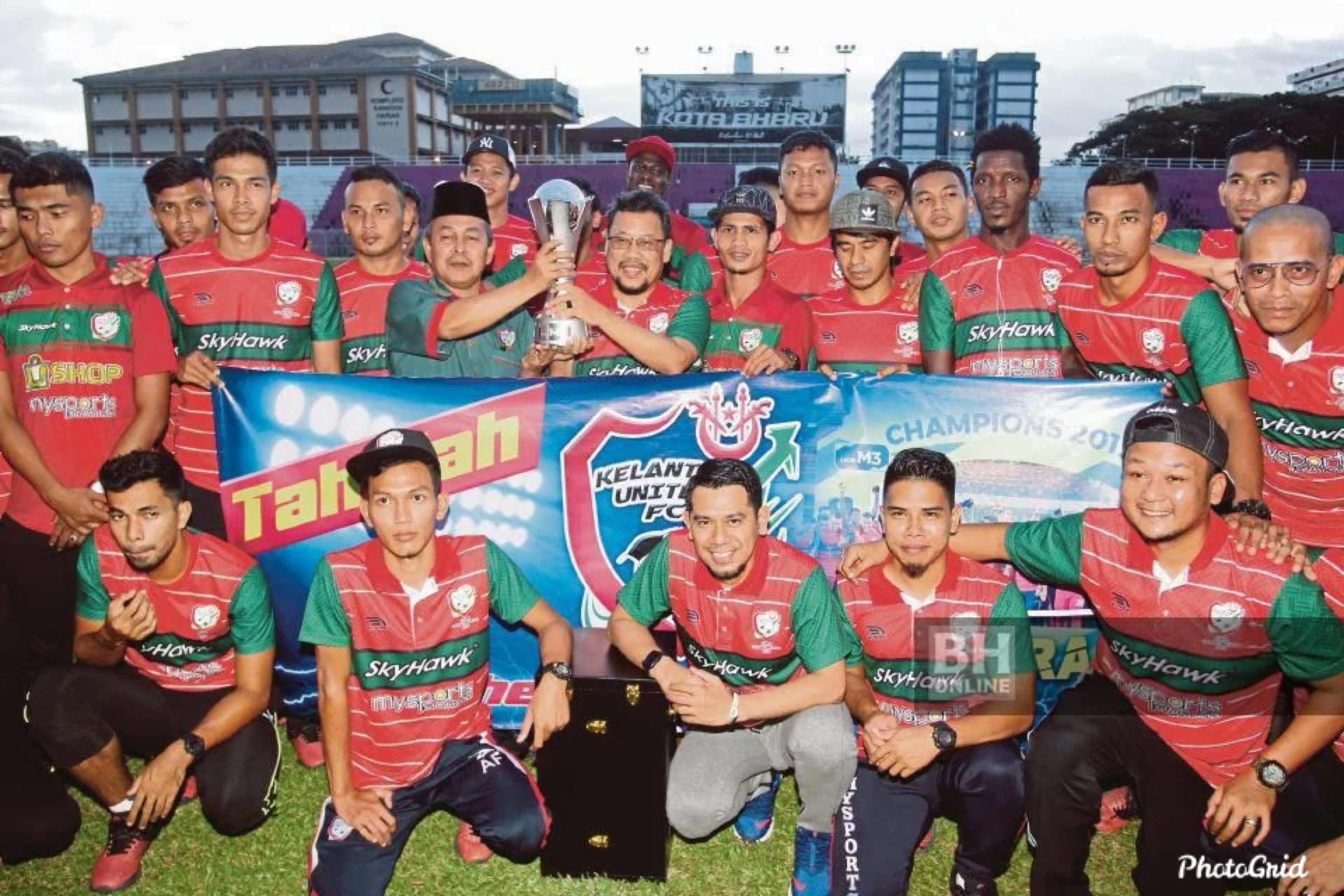 Kelantan United Meriahkan Bolasepak Kelantan