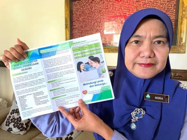 Pengarah Perkeso Kelantan, Nora Yaacob