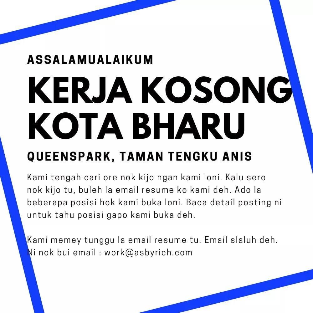 Jawatan Kosong Di ASBY Rich Sdn Bhd (Kota Bharu)