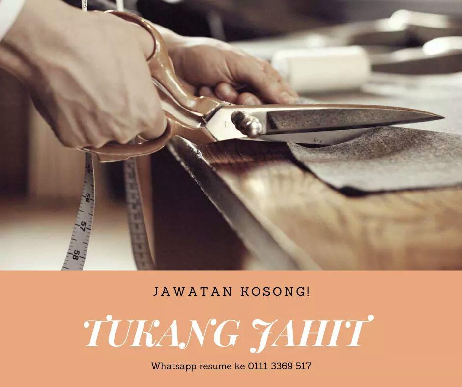 Jawatan Kosong Di Jazzemine Couture Kubang Kerian