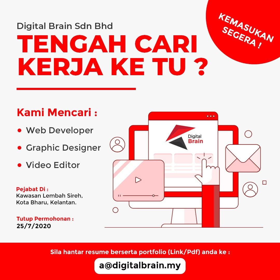 Jawatan Kosong Di Digital Brain Sdn Bhd